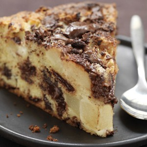 torta di pere, torta alle pere, torta al cioccolato